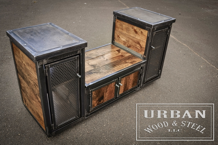 Urban wood steel popshopmarket Wood and steel furniture